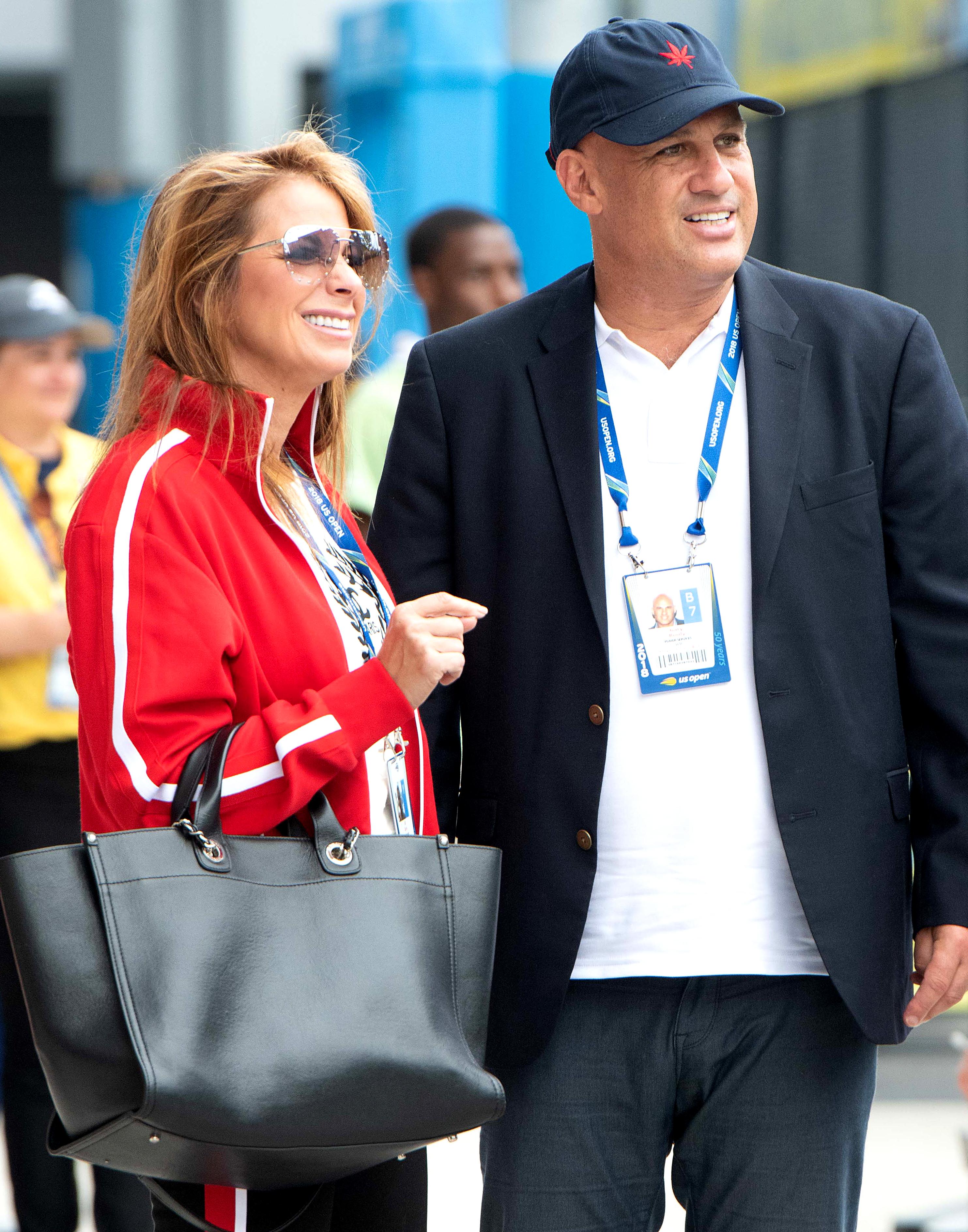 Are Wedding Bells in Jill Zarin and Boyfriend Gary Brody's Future? - Jill Zarin and Gary Brody at the US Open on September 7, 2018 in New York City.