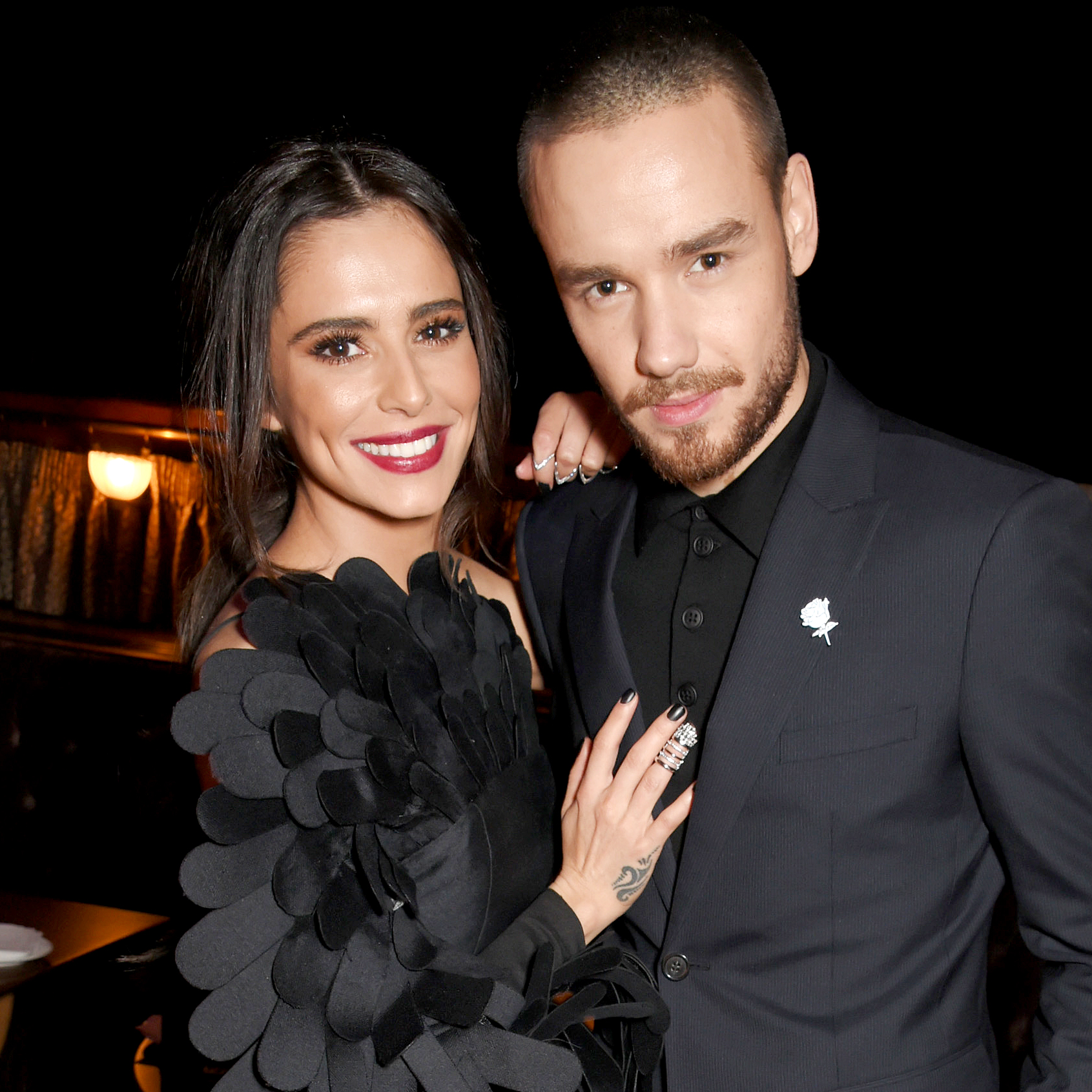 """Bear-Grey-Payne-Liam-Payne-Cheryl-Cole - """"He leapt out of his mother and caught a salmon and immediately started fighting with another bear,"""" Payne joked when asked about his and Chery Cole 's son's middle name on the The Late Late Show With James Corden ."""