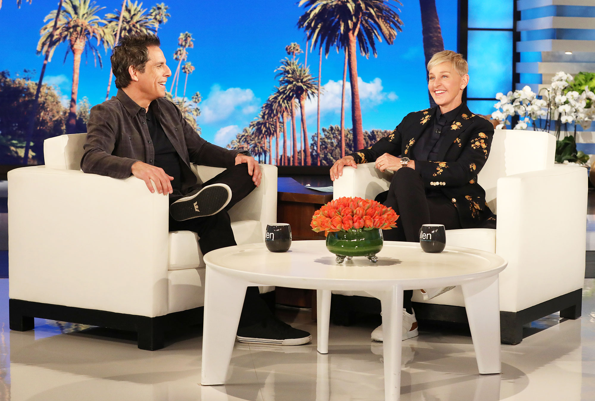 Ben Stiller Jokes Daughter Ella Football Scholarship Yale The Ellen DeGeneres Show