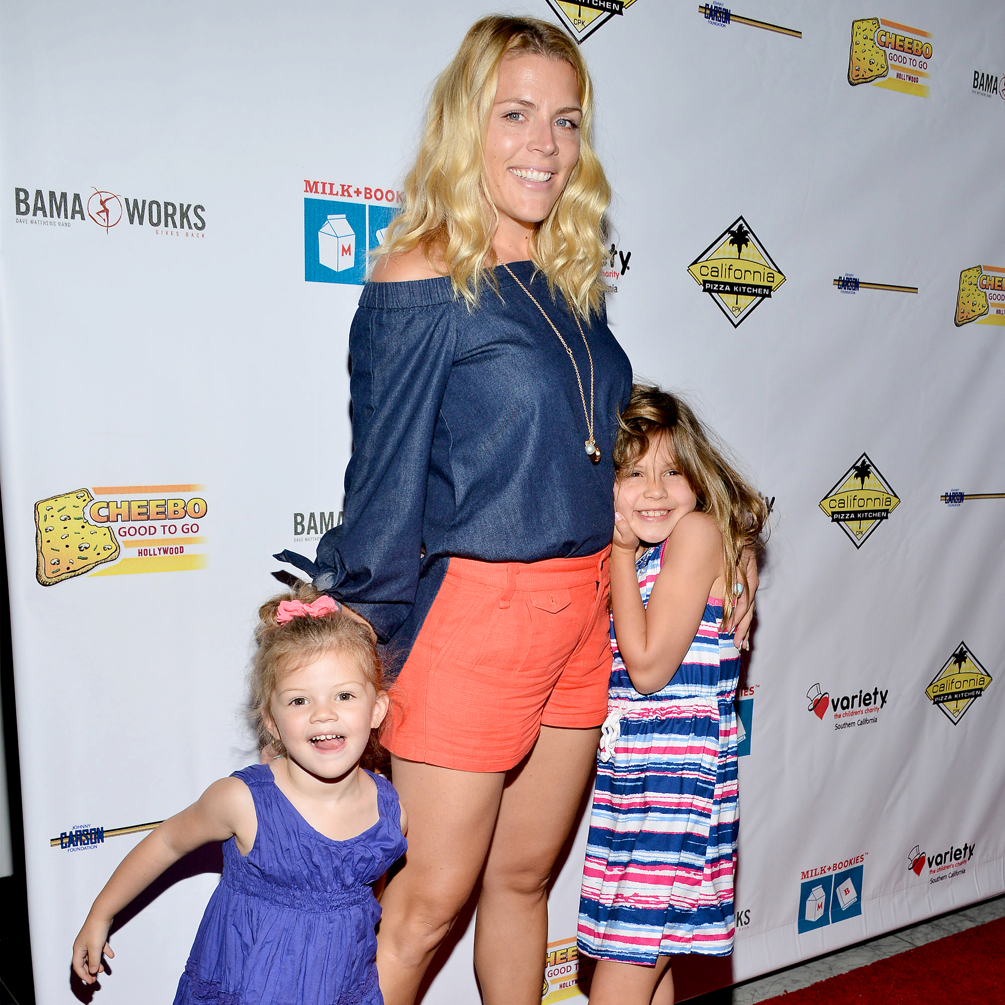 """Birdie-Leigh-and-Cricket-Pearl-Silverstein-Busy-Philipps - """"Since I grew up with a nickname — Busy being short for Elizabeth — when my husband and I started to have our babies, we decided that if wanted to call our kids something, we would just name them that thing that we wanted to call them,"""" Philipps revealed on the Today show in 2014."""