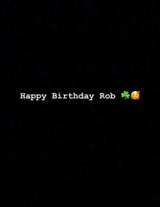 Blac Chyna Wishes Ex-Fiance Rob Kardashian a Happy Birthday After Making Peace