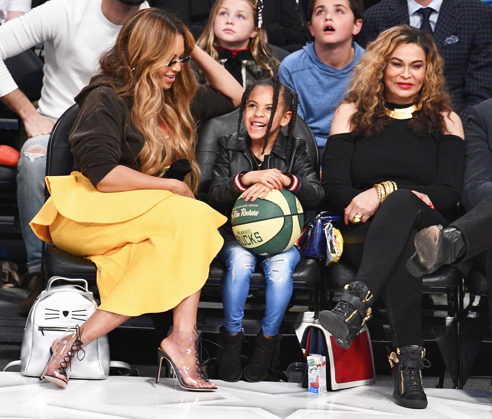 Blue Ivy Carter Tells a 'Corny Joke' and the Beyhive Can't Handle Her Adorable Voice