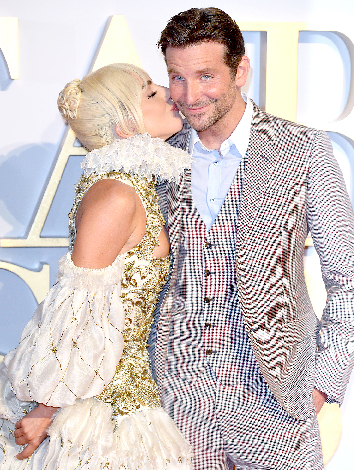 Bradley Cooper, Lady Gaga 'Really Got Into' Their A Star Is Born Roles: They Have 'Insane Chemistry' - Lady Gaga and Bradley Cooper attend the UK premiere of 'A Star Is Born' at the Vue West End on September 27, 2018 in London, England.