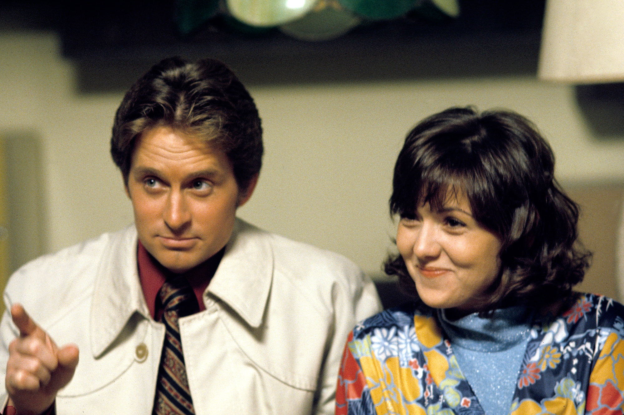 Brenda Vaccaro Says She Did Drugs With Michael Douglas - Brenda Vaccaro and Michael Douglas appear in 'The Streets Of San Francisco' January 18, 1973.