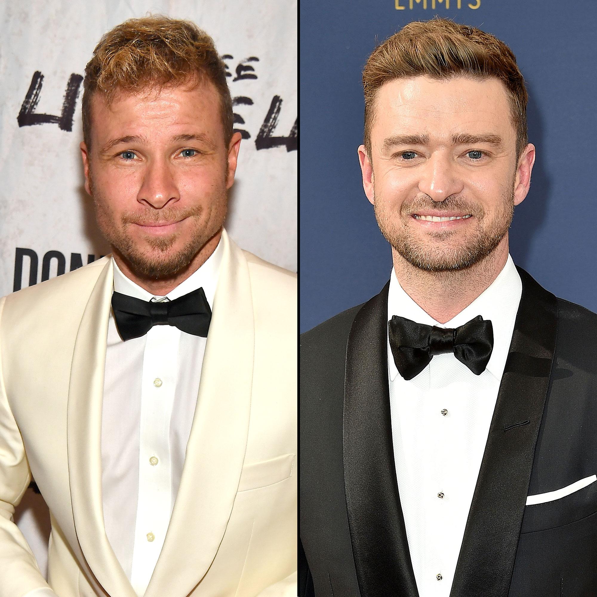 Brian Littrell Shades 'N Sync: They 'Definitely' Need Justin Timberlake - Brian Littrell and Justin Timberlake