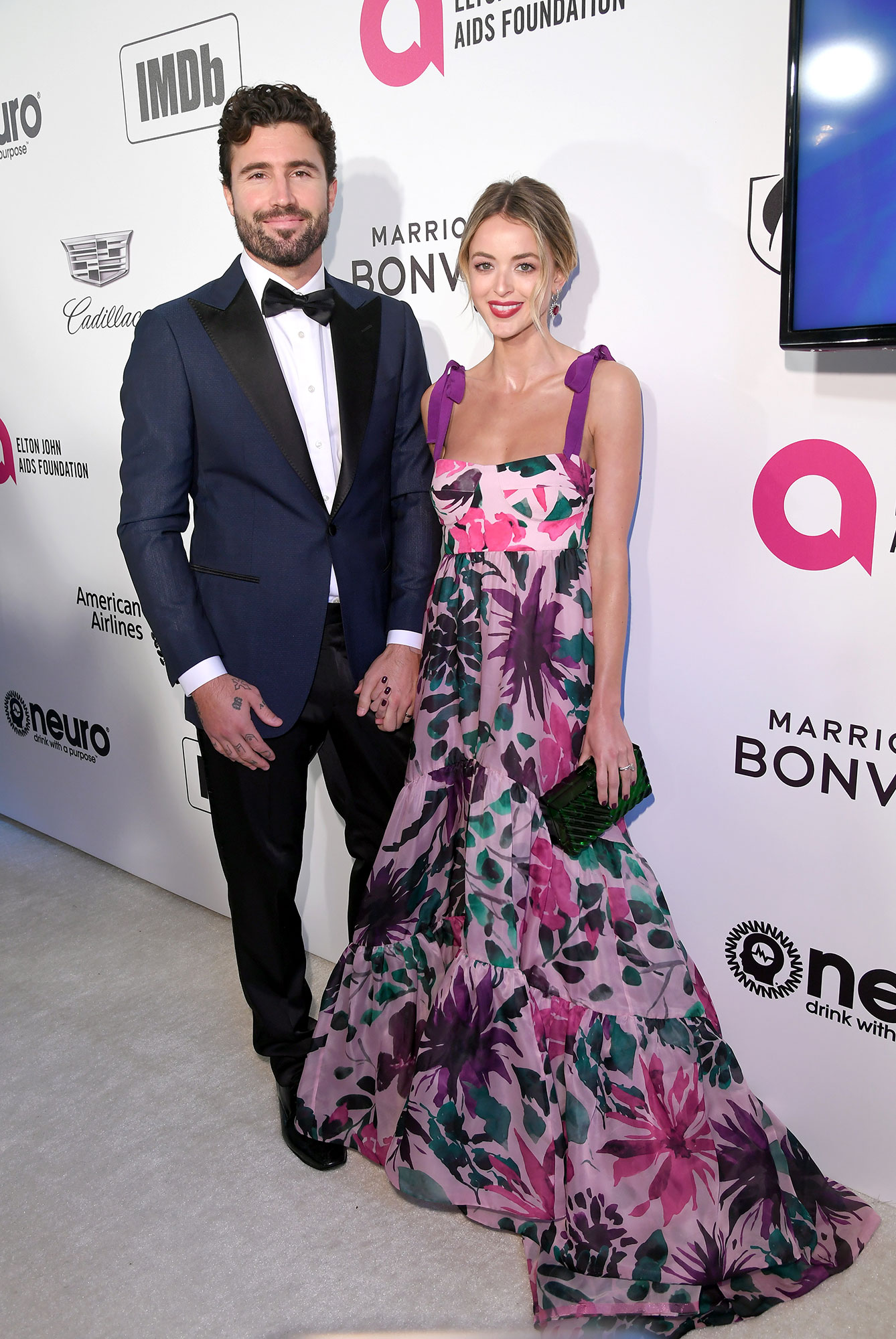 Brody Jenner Reveals Whether Kristin Cavallari or Lauren Conrad Are More Likely to Show Up on 'The Hills' Revival? - Brody Jenner and Kaitlynn Carter Jenner attend the 27th annual Elton John AIDS Foundation Academy Awards Viewing Party Celebrating EJAF And The 91st Academy Awards on February 24, 2019 at the City of West Hollywood Park in West Hollywood, California.