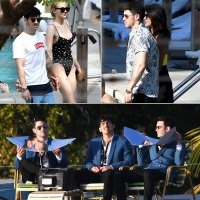 Jonas Brothers Vacation With Sophie and Priyanka in Miami