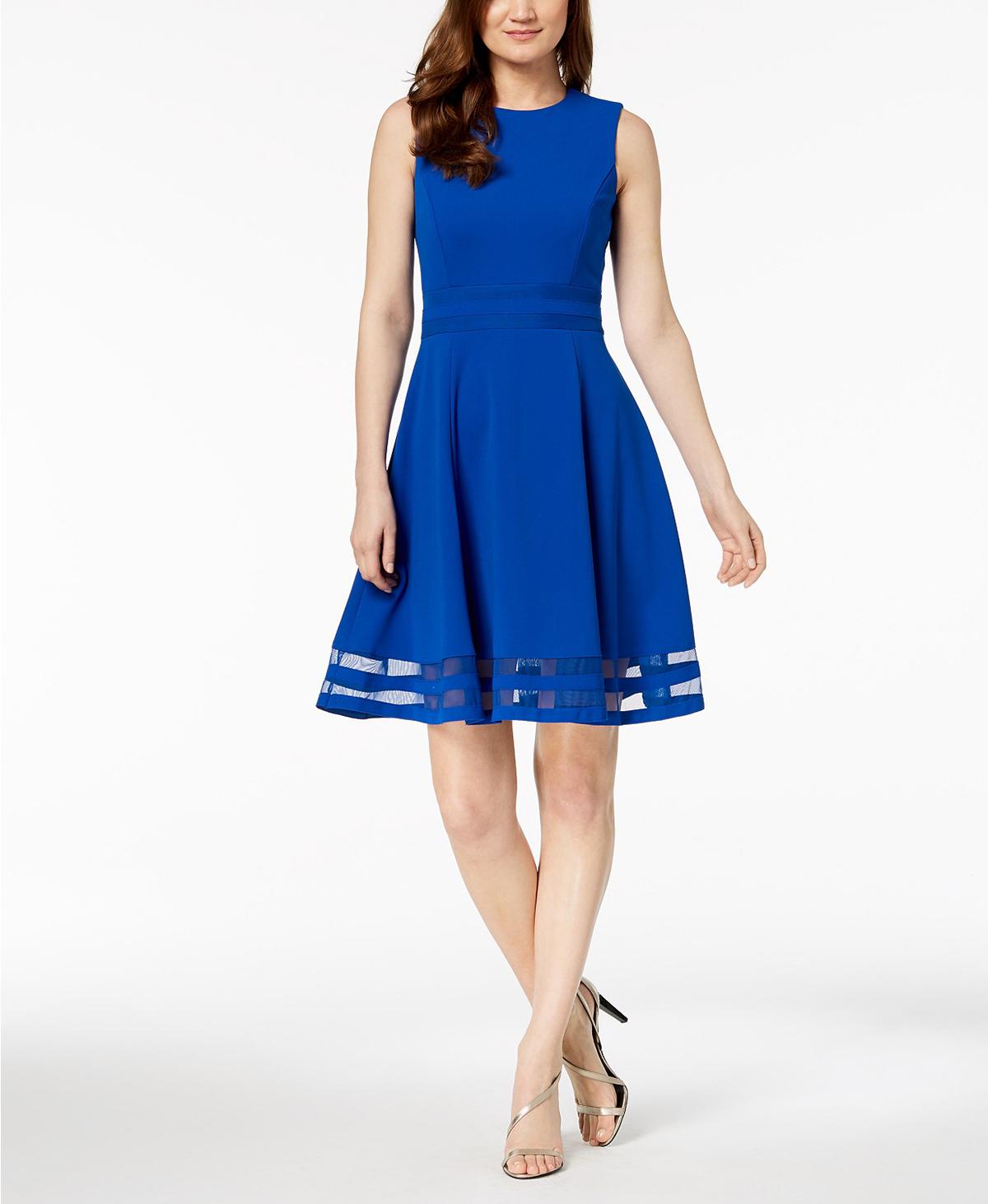 CK Dress Blue