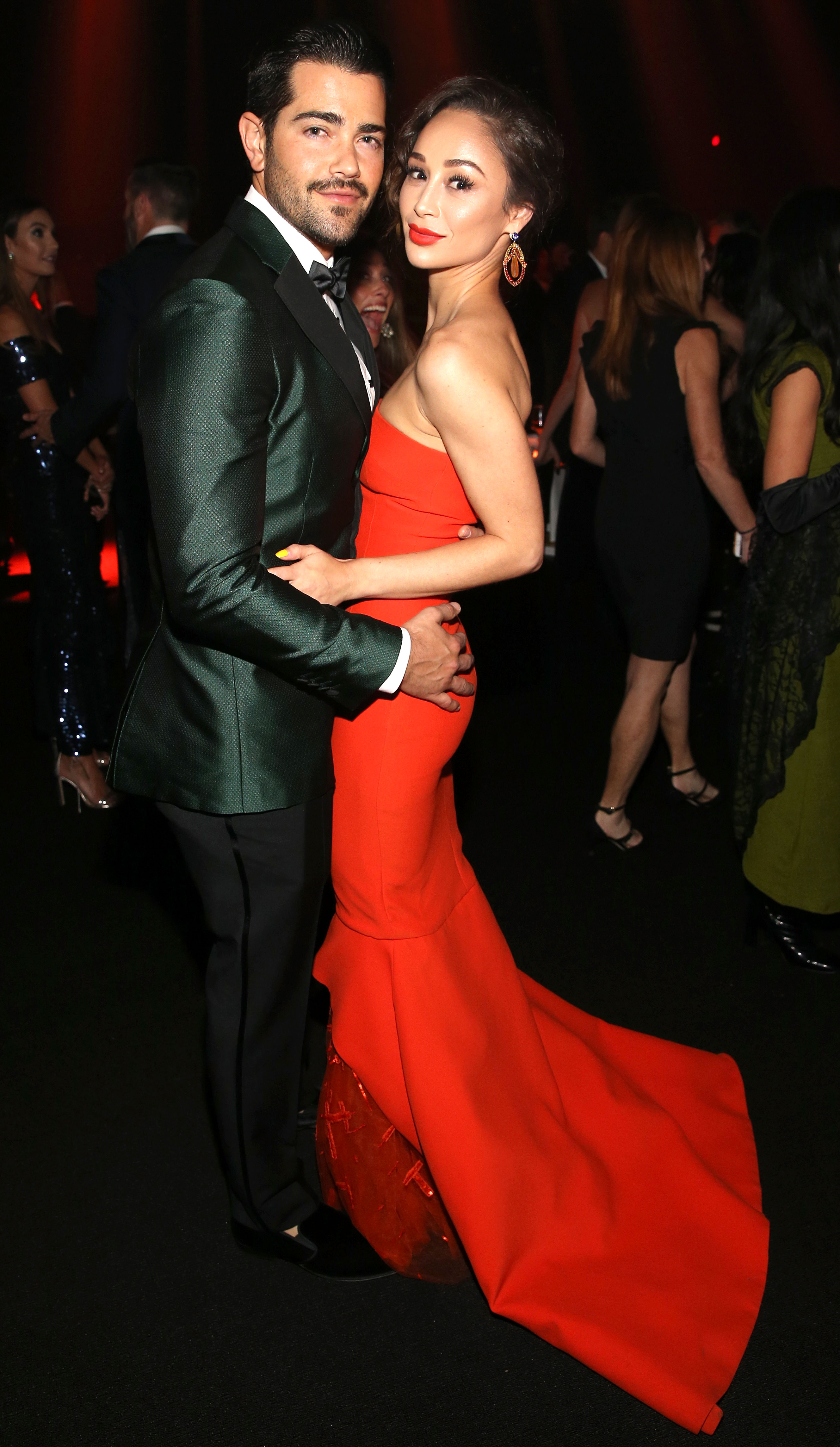 Cara Santana: I'm 'Nowhere' in My Wedding Planning With Fiance Jesse Metcalfe - Jesse Metcalfe and Cara Santana attend The Art Of Elysium's 11th Annual Celebration with John Legend at Barker Hangar on January 6, 2018 in Santa Monica, California.