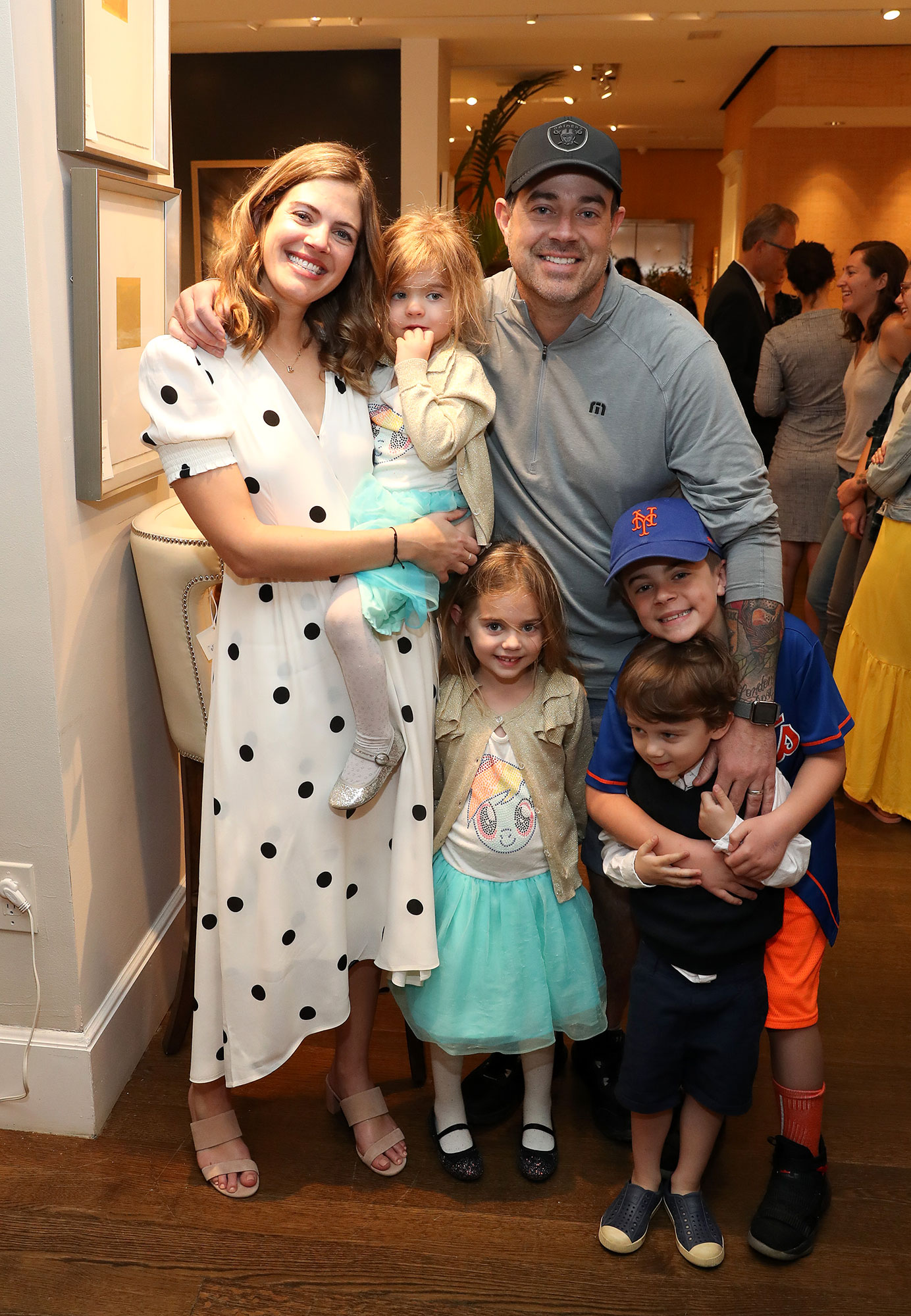 """Carson Daly Reveals He Is 'Scared of Loving' His Three Kids Too Much - Siri Daly (L) and Carson Daly, and family, attend """"Siriously Delicious"""" by Siri Daly book launch event at Williams Sonoma Columbus Circle on April 14, 2018 in New York City."""