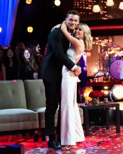 Colton Underwood and Cassie Randolph What We Know About 'Bachelor' Winner Cassie Randolph's Randi Rahm Dress
