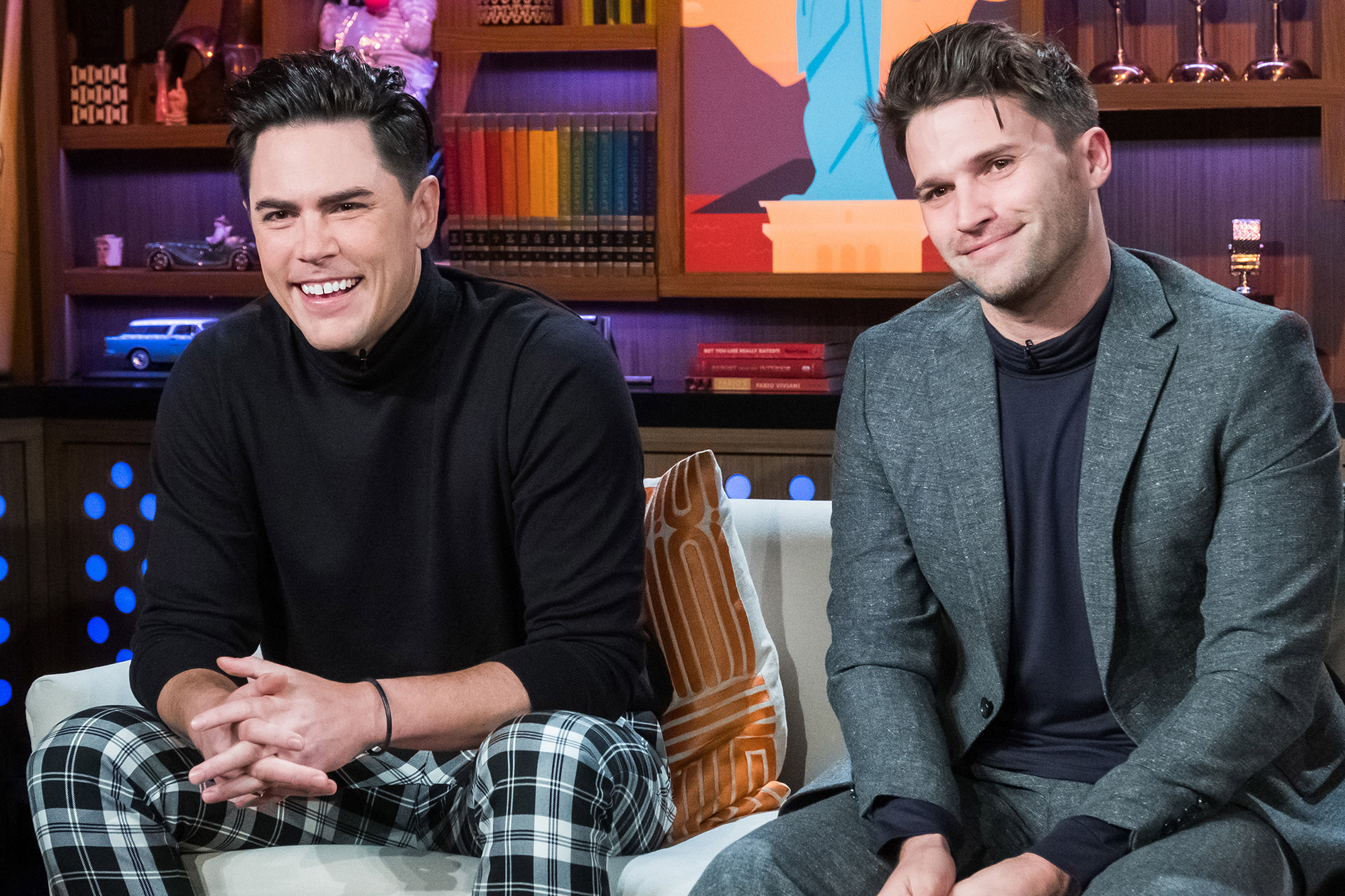 Celebrities Who Own Restaurants: Jay-Z, Ryan Gosling, Armie Hammer and More - The Vanderpump Rules costars opened their first bar, Tom Tom, in West Hollywood in 2018, with some help from bosses Ken Todd and Lisa Vanderpump . The establishment has quickly become a celeb-favorite, attracting guests such as Chrissy Teigen and John Legend , as well as Miley Cyrus .