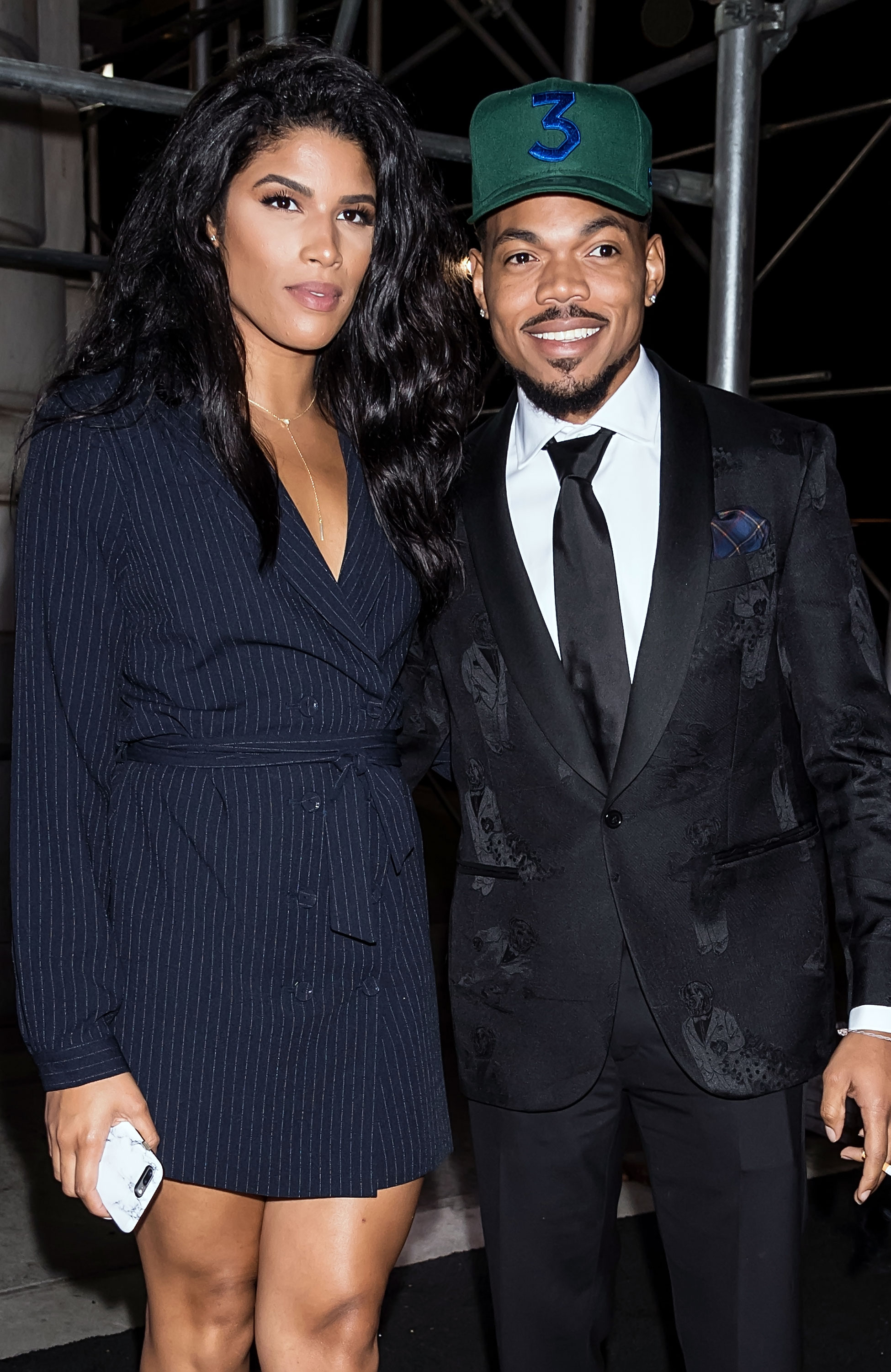 """Chance the Rapper and Kirsten Corley Celebrity Weddings 2019 - The Chicago-born artist tied the knot with his longtime love at The Resort at Pelican Hill in Newport Beach, California, on March 9. """"It was a beautiful ceremony,"""" a source told Us, adding that guests flocked to a photo booth during the reception."""