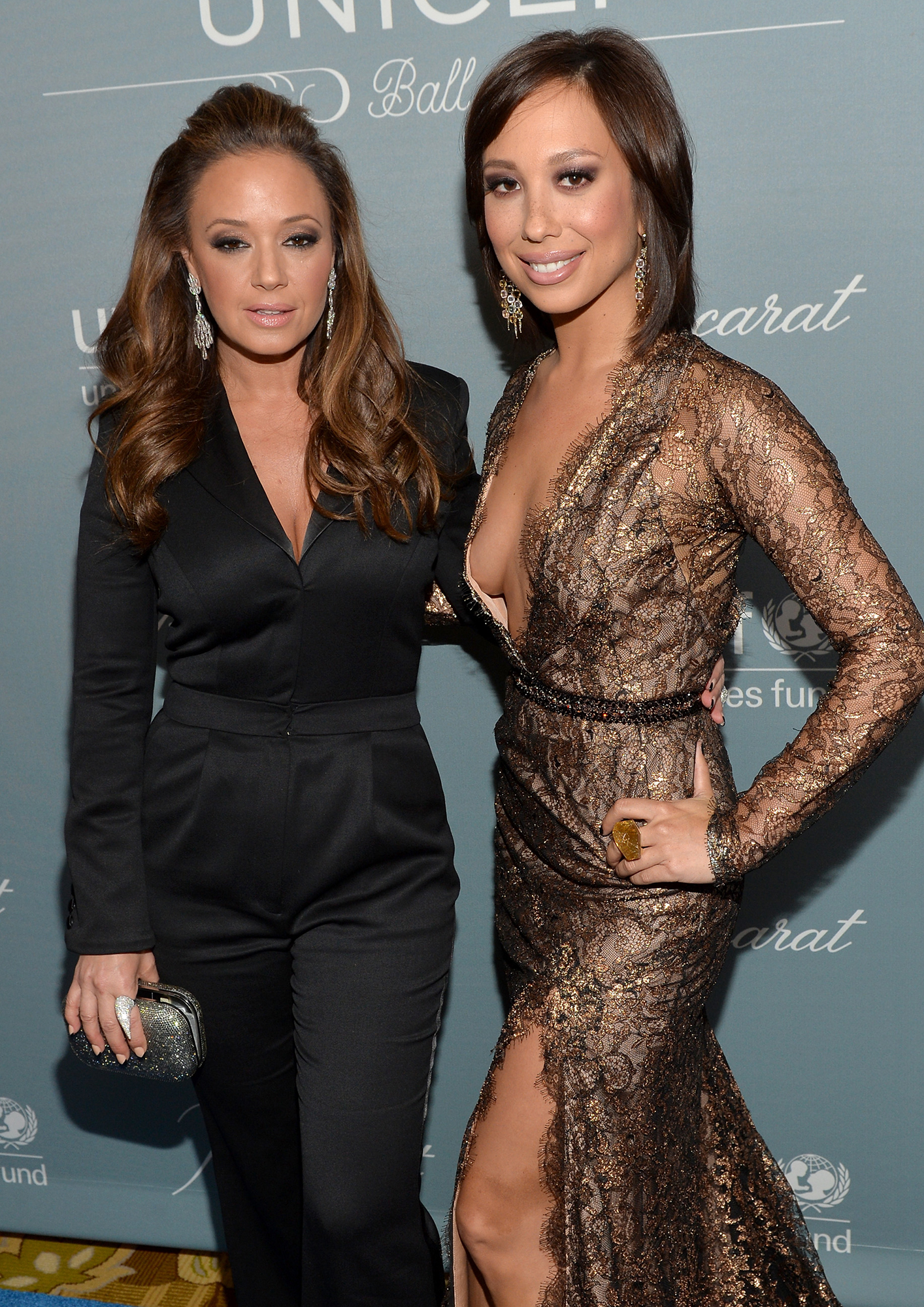 Cheryl Burke Celebrates Bridal Shower at 'Matron of Honor' Leah Remini's House Ahead of Wedding to Fiance Matthew Lawrence - Cheryl Burke with Leah Remini.