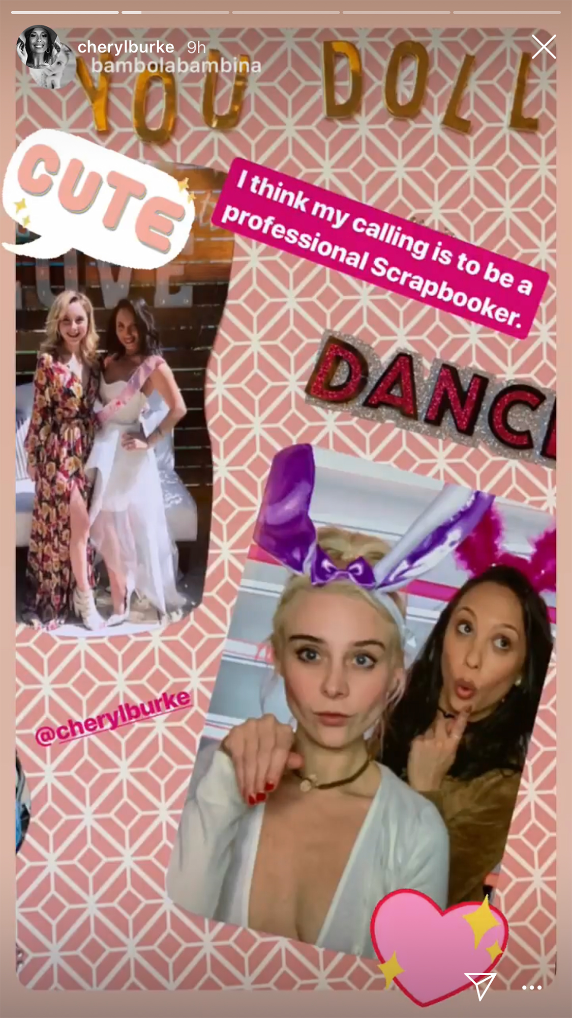 Cheryl Burke Celebrates Bridal Shower at 'Matron of Honor' Leah Remini's House Ahead of Wedding to Fiance Matthew Lawrence - The reality star wore a strapless white dress for the party.