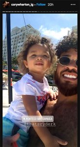 Cory Wharton and Cheyenne Floyd's Daughter Gets 'Chocolate Wasted' on Jamaica Family Vacay