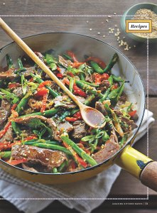Curtis Stone Shares His 10-Minute Recipe for Steak and Green Bean Stir-Fry With Ginger and Garlic
