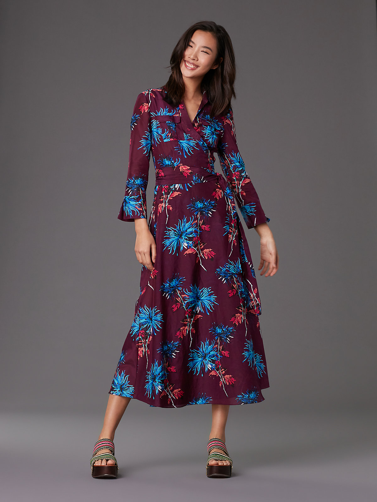 DVF Dress Currant