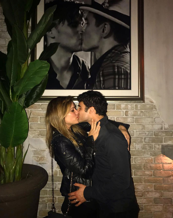 Celebrities Who Have Been to Tom Tom - The newlyweds hit up Tom Tom in March 2019 just weeks after tying the knot, and they really let loose. In addition to posing under that infamous photo of the Toms à la John and Chrissy, the Glee alum and his new wife also did a few Tomakazi shots .