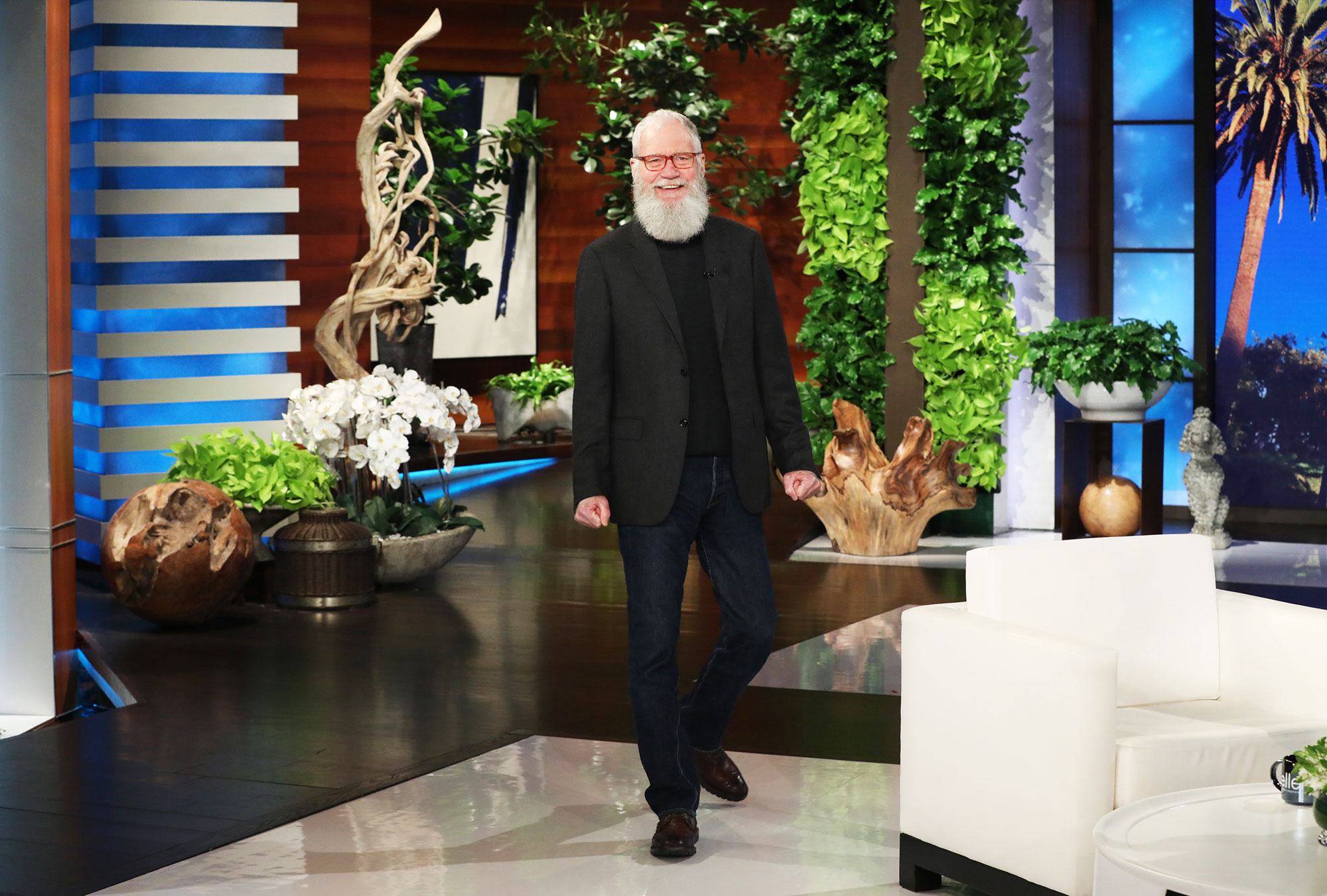 David Letterman Thought He Was Going to Prison for Throwing a Baseball Out a Window - David Letterman on The Ellen Show