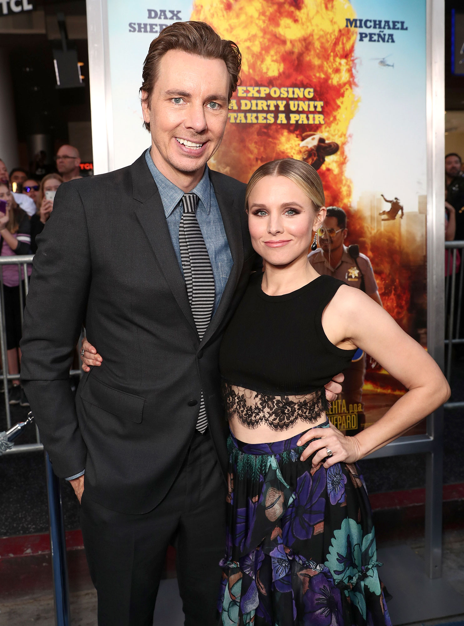 Dax Shepard Initially Turned Down 'Parenthood' to Be With Kristen Bell - Dax Shepard and Kristen Bell attend the premiere of 'CHiPS at TCL Chinese Theatre in Hollywood on March 20, 2017.
