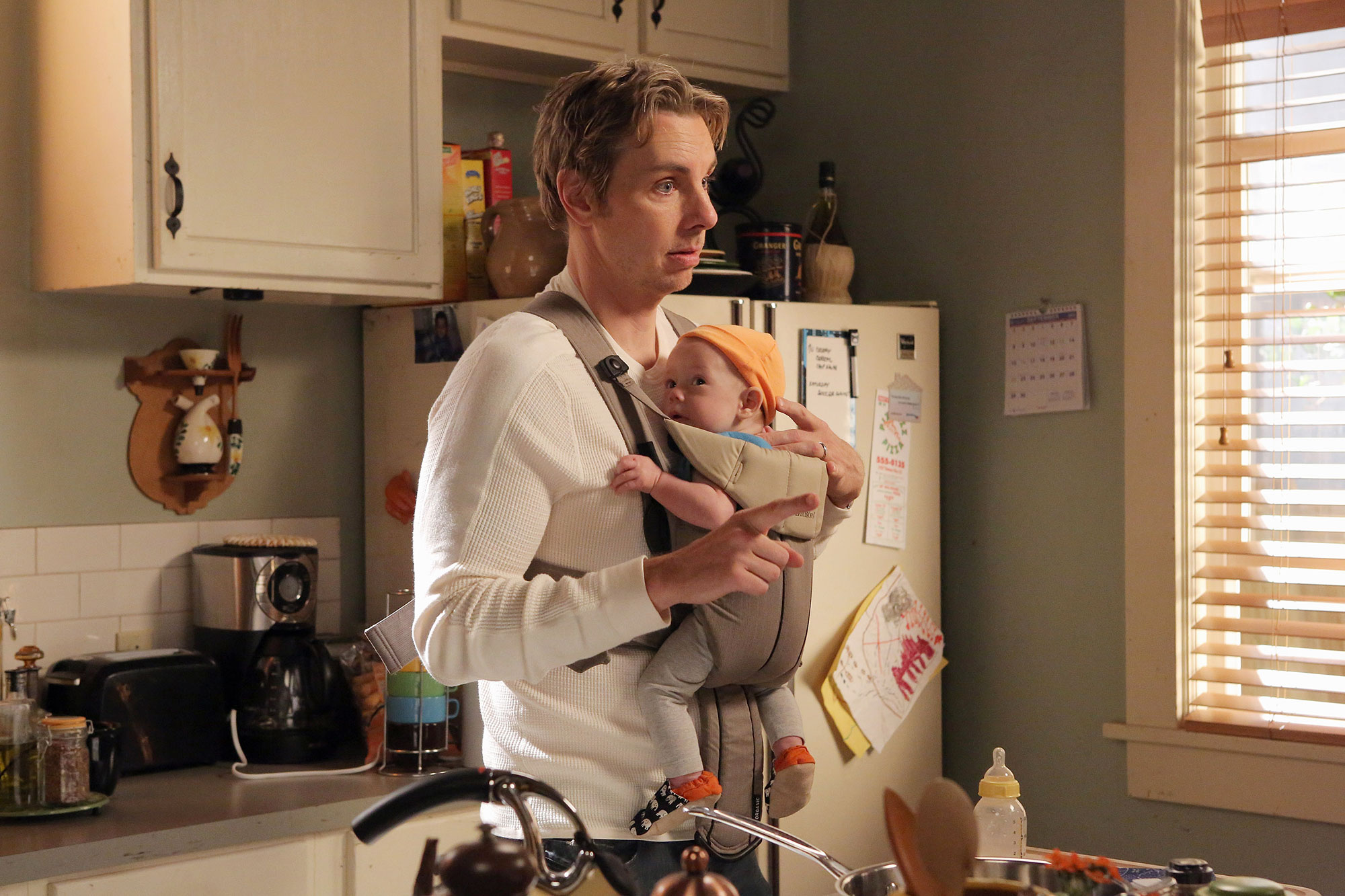 Dax Shepard Initially Turned Down 'Parenthood' to Be With Kristen Bell - Dax Shepard as Crosby Braverman in 'Parenthood.'
