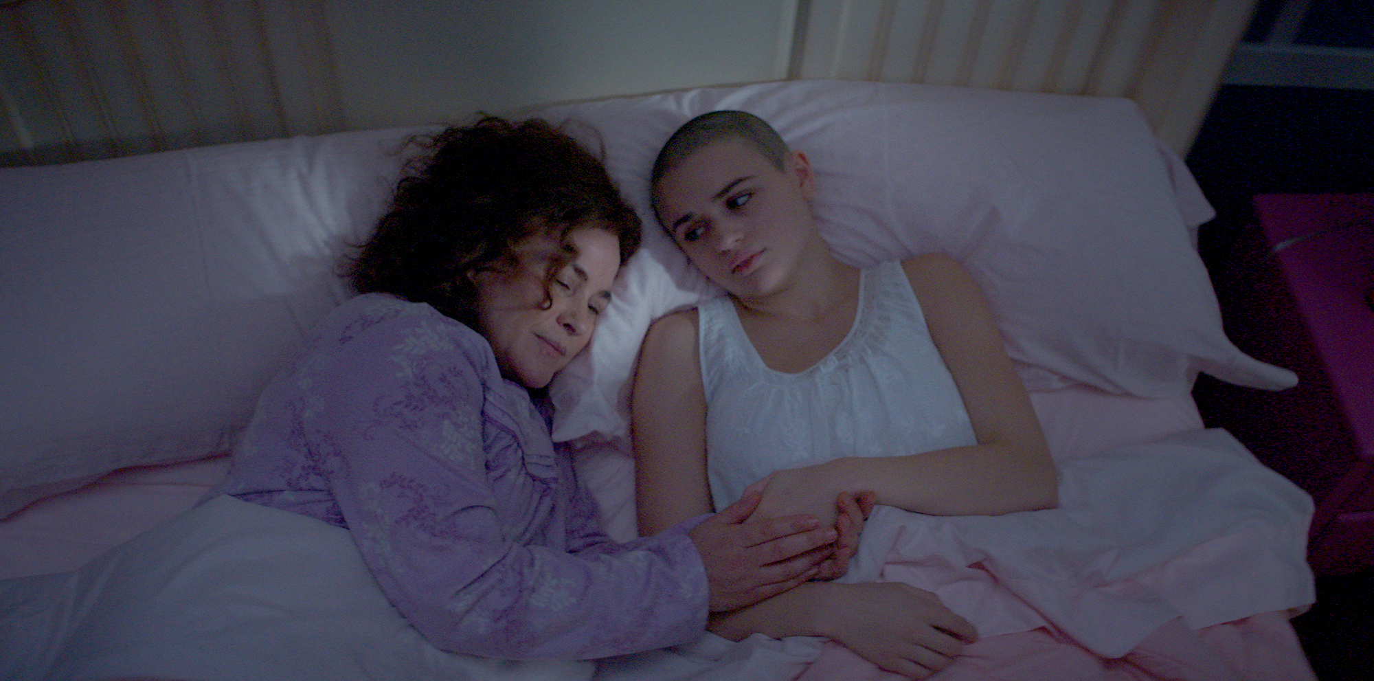 Dee-Dee-Blanchard-(Patricia-Arquette)-and-Gypsy-Rose-Blanchard-(Joey-King)-The-Act-2 - As for why Dee Dee did what she did, the investigation points to Munchausen by proxy, a syndrome in which a person fakes someone else's illness in hope of benefitting themselves. She went by multiple different aliases through her life, told lies about her family and of course, about Gypsy's health.