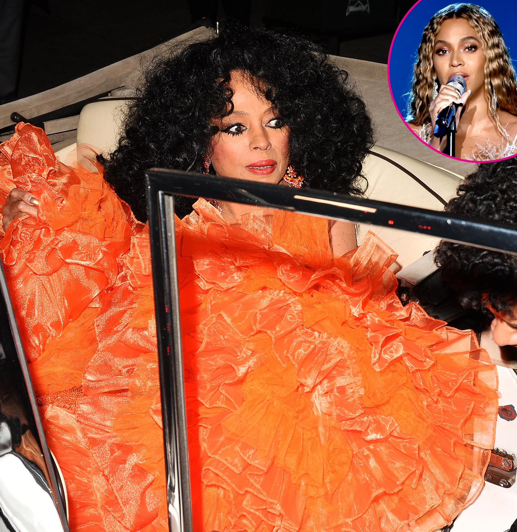 Diana-Ross'-75th-Birthday-Bash--Beyonce-Sang-Happy-Birthday - Khloe Kardashian Dresses as Diana Ross at Her 75th Birthday Party at Warwick. 27 Mar 2019 Pictured: Diana Ross.