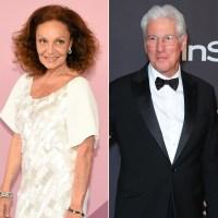 Diane von Furstenberg Opens Up on Fling With Richard Gere: 'It Was a F--k'