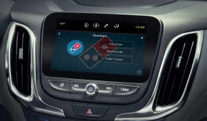Domino's Will Soon Let Customers Order Pizza Directly From a Touchscreen in Their Cars