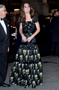 Duchess Kate Dazzles in Recycled Floral Gown at the Portrait Gala in London: Photos
