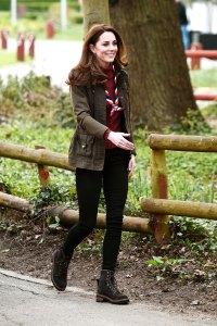 Duchess Kate's Khaki Jacket Is Spring Topper #Goals