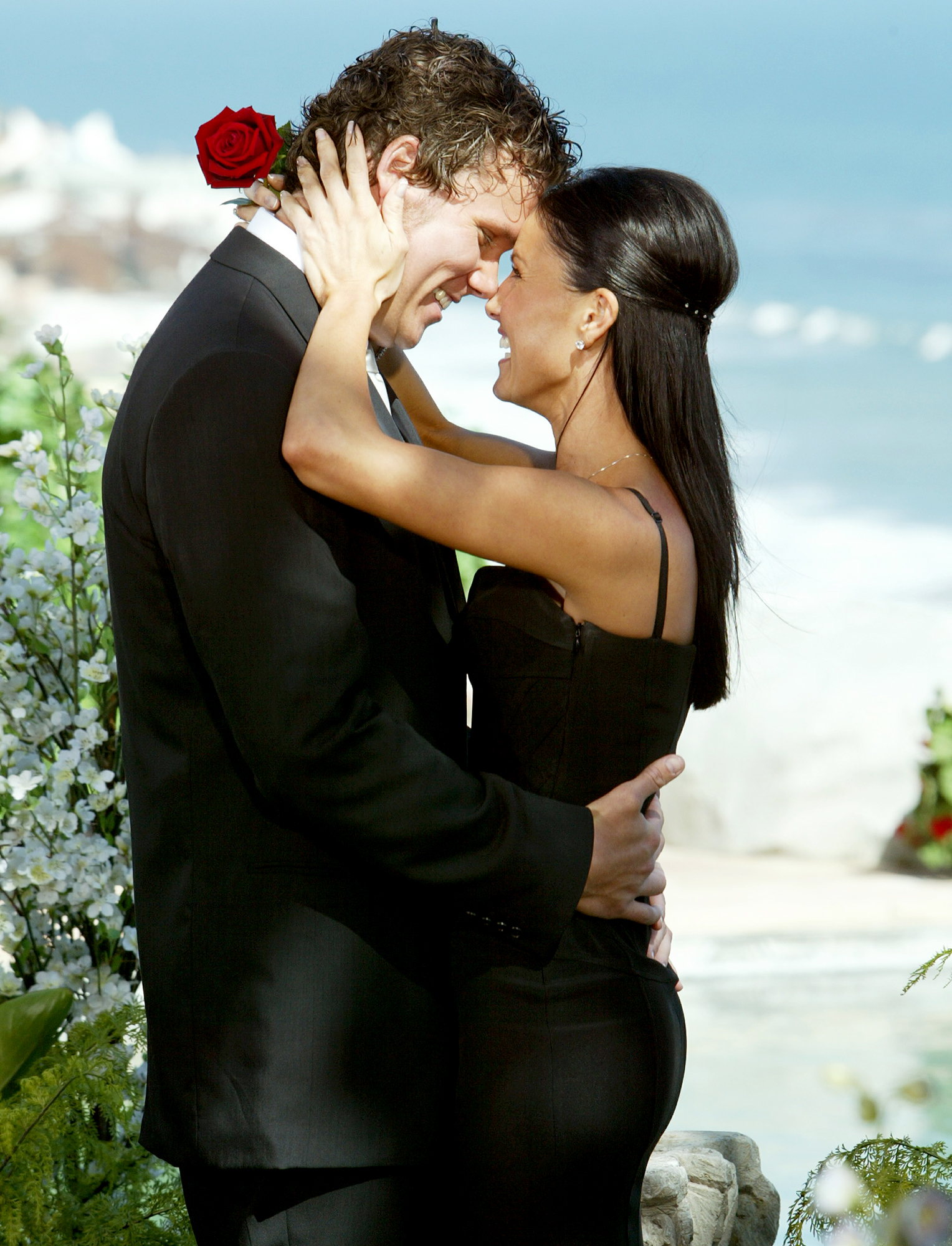 ESTELLA-Bob-Guiney - The season 4 Bachelor gave his winner, Estella Gardinier , a promise ring, but the duo called it quits shortly after the November 2003 finale.