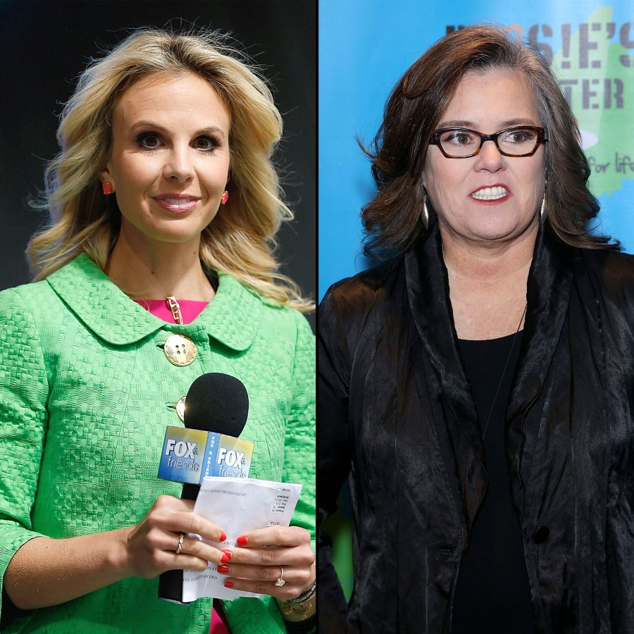 Elisabeth Hasselbeck Slams Rosie O'Donnell's 'Disturbing' and 'Offensive' Crush Confession