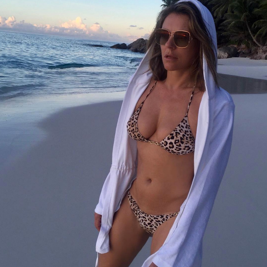 e786cec6a How Elizabeth Hurley Stays in Shape  Fitness