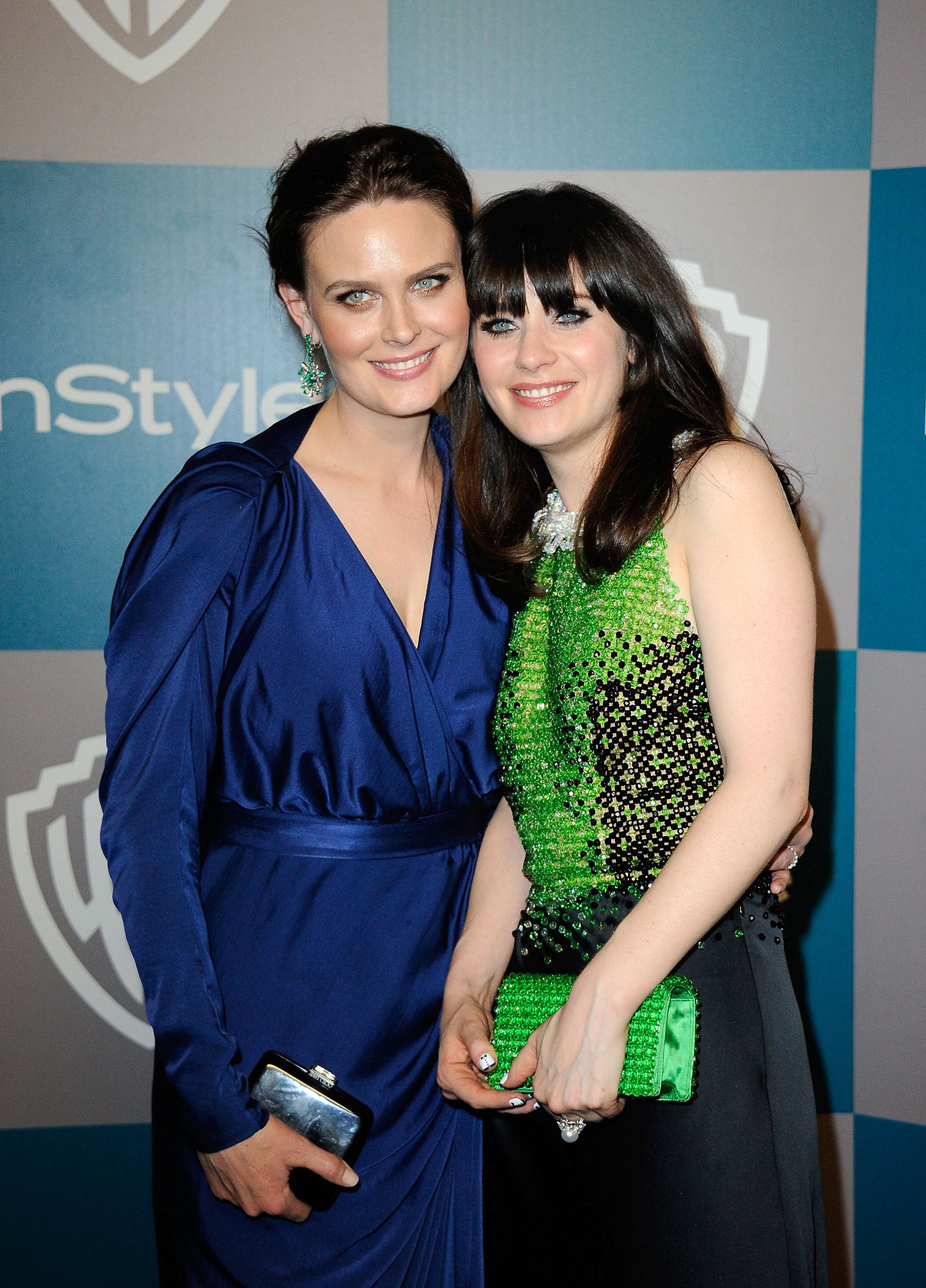 "Celebrity Siblings Gallery - ""Emily's four years older, which is a very vulnerable amount of years. Because when I was 3, she was 7, and she was already evil,"" New Girl 's Zooey joked to Jimmy Kimmel in 2012 of her actress sister. ""She basically just used the plot of Invasion of the Body Snatchers to terrify me . . . made crazy faces at me and talked like Vickie from Small Wonder . She would make me cry and then my dad would come in and try to mediate, and then she would laugh."""