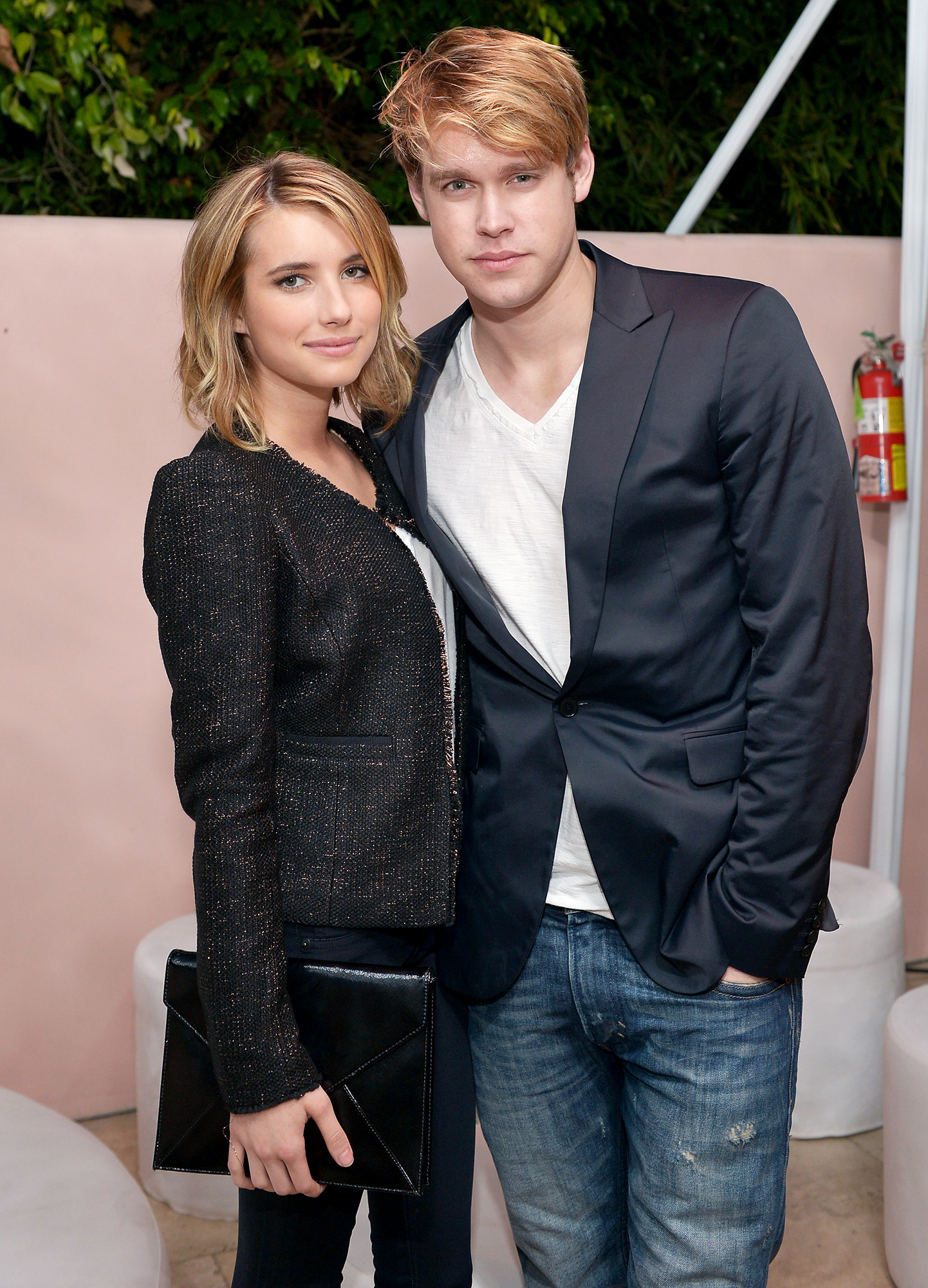 Emma Roberts' Dating History - The Glee alum and the Aquamarine star were first linked in 2011, but called it quits after several months of dating in early 2012. The twosome rekindled their relationship in April 2012 after they were spotted packing on the PDA at Coachella.
