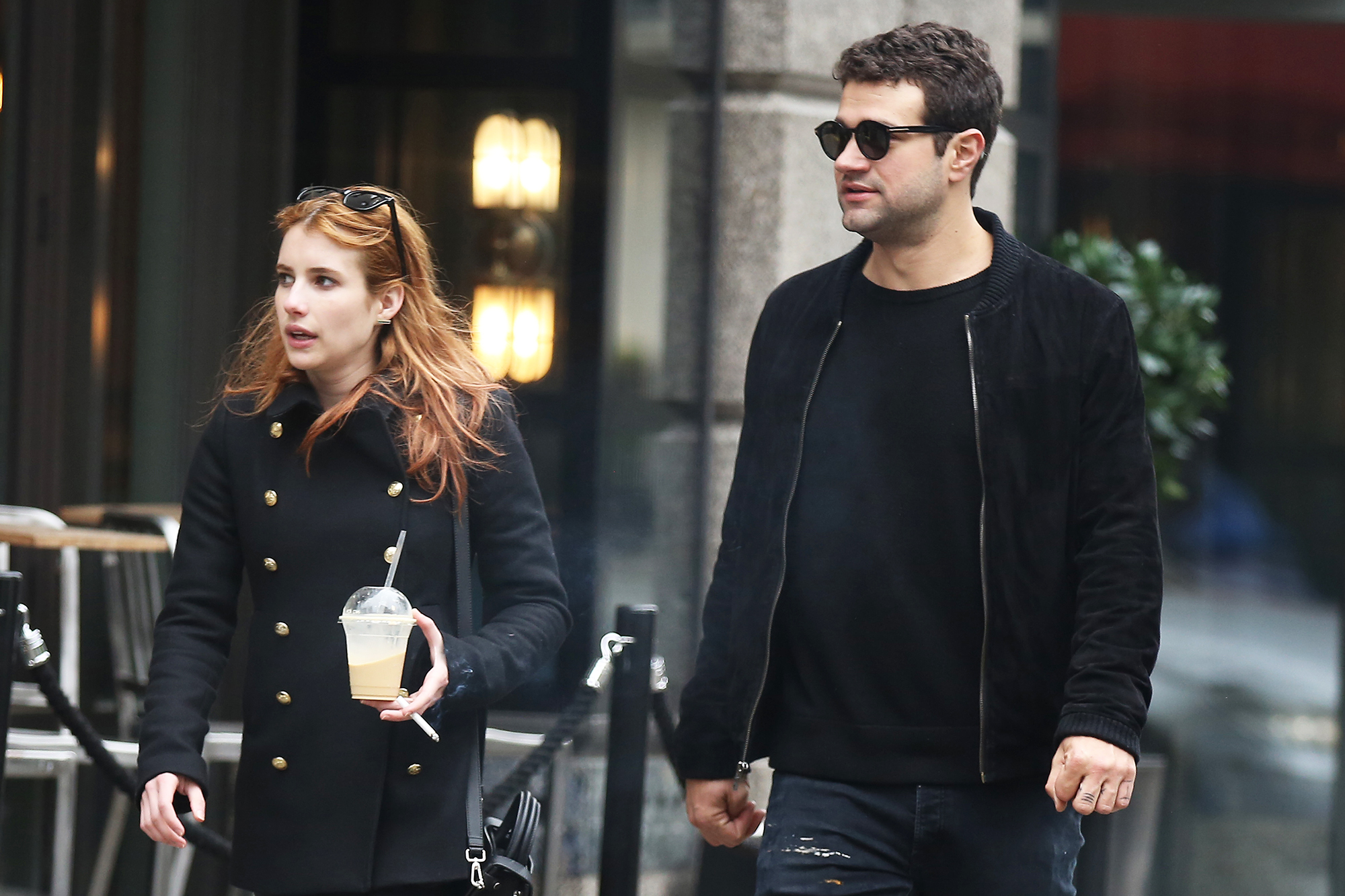 Emma Roberts' Dating History - After her first split from Peters, Roberts stepped out with the director in June 2016. A source told Us at the time that the duo were introduced by their mutual friend, fashion designer Brit Elkin.