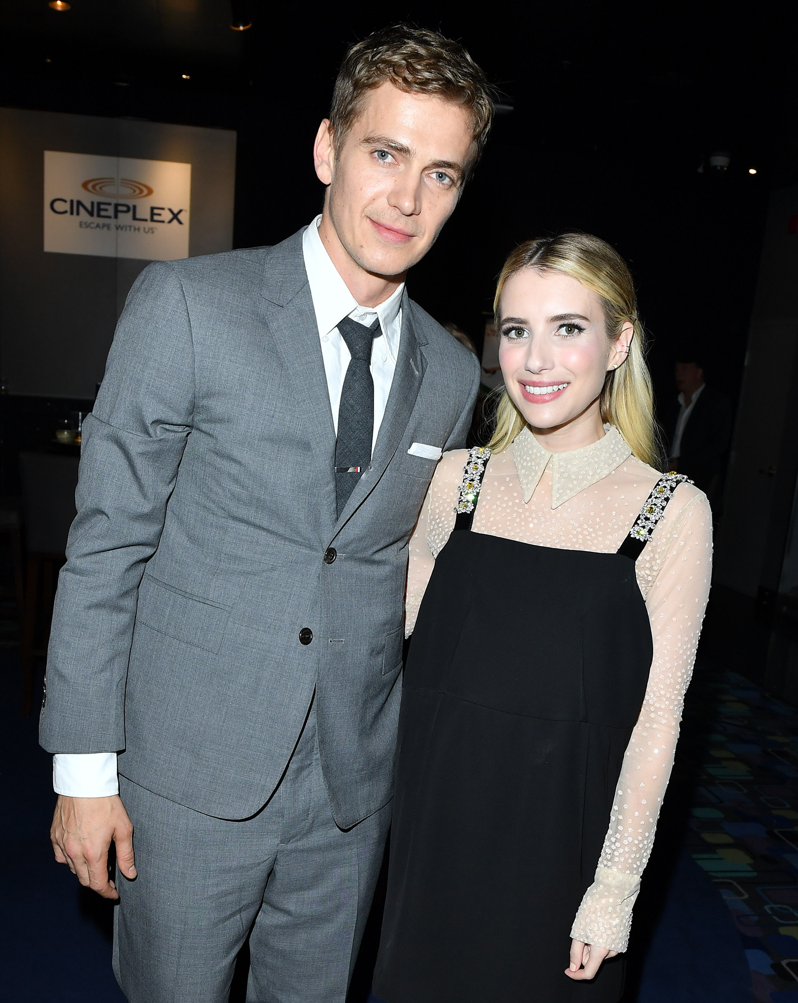 Emma Roberts' Dating History - Roberts made headlines in October 2017 after Rachel Bilson reportedly found text messages between the Scream Queens star and her then-boyfriend, leading The O.C. alum to believe Roberts and Christensen had an inappropriate relationship. ( Us broke the news in September 2017 that Bilson and Christensen had split.)