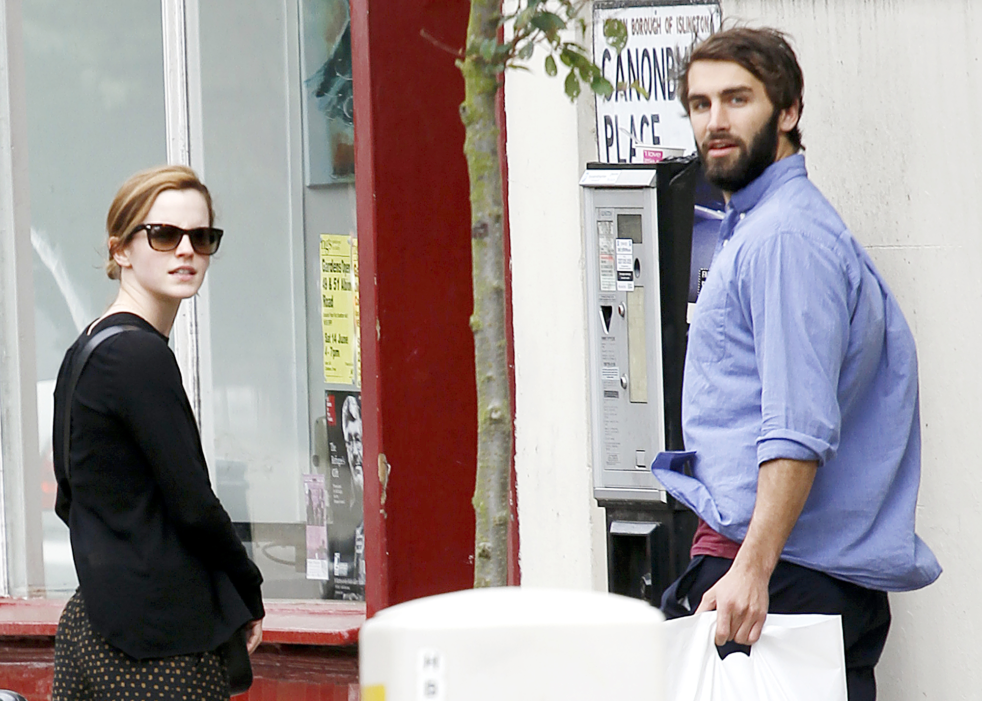 "Emma-Watson-Matthew-Janney - Janney and Watson went public with their relationship in January 2014 when they were seen canoodling on Caribbean vacation. Nearly one year later, a source told Us that the pair made the ""mutual decision"" to split ."
