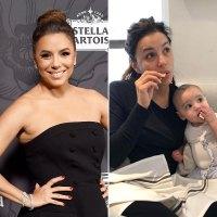 Eva Longoria Shares the Cutest Makeup-Free Instagram