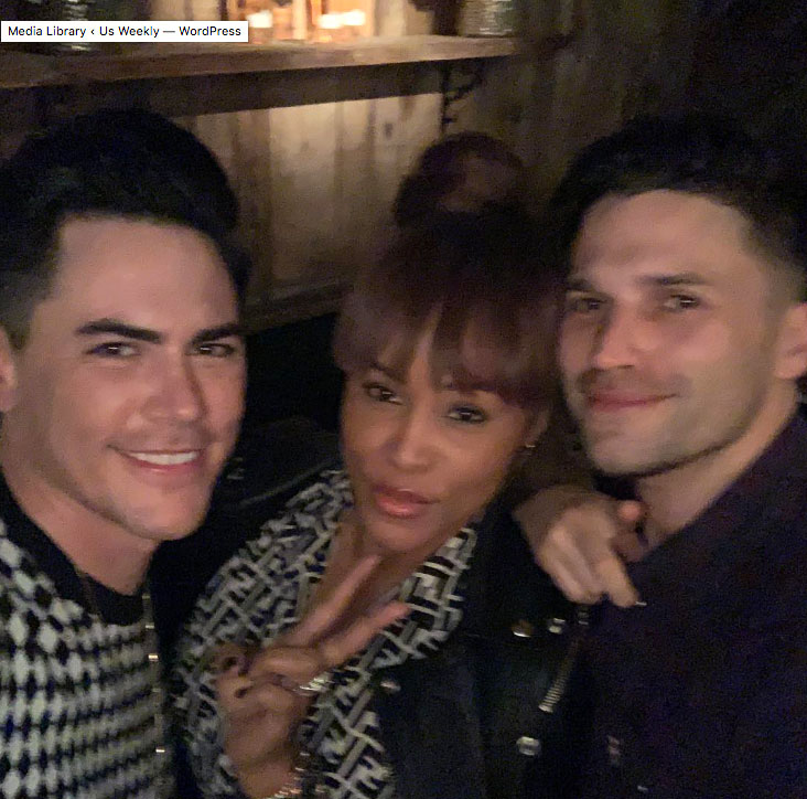 """Celebrities Who Have Been to Tom Tom - Despite a bevy of celeb sightings thus far, the Toms aren't immune to getting starstruck when a famous person stops by. Case in point: Schwartz couldn't contain his excitement when the """"Let Me Blow Ya Mind"""" songstress dropped by in March 2019."""