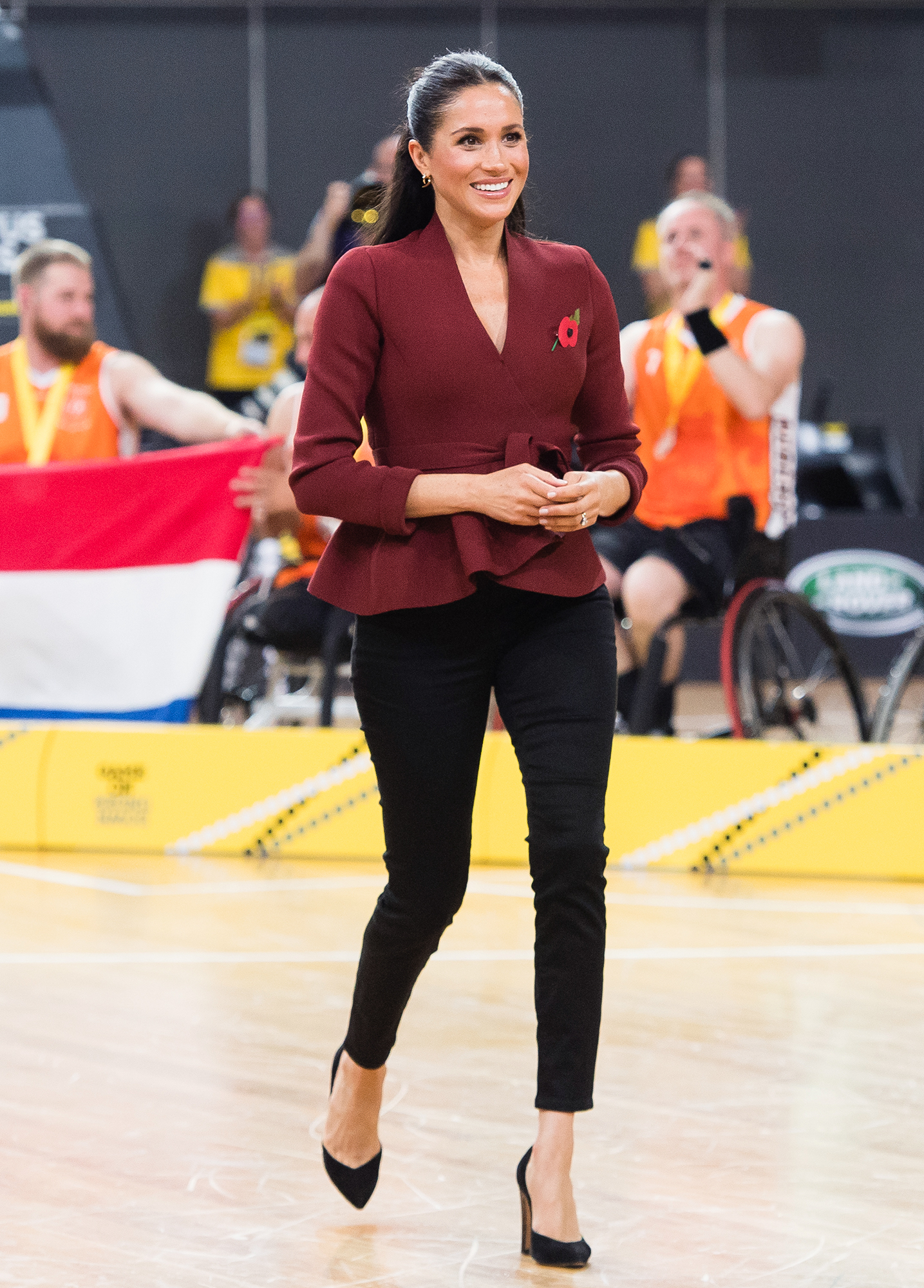 """Everything Duchess Meghan Has Said About Her Diet and Fitness Tricks - """"There was an old episode of The Cosby Show where Clair Huxtable was trying to lose weight and feel great to fit into a dress,"""" Meghan (at the Invictus Games in Sydney on October 27, 2018) once told Us . """"Debbie Allen is her trainer and she literally says, """"You've got to burn it, to earn it."""