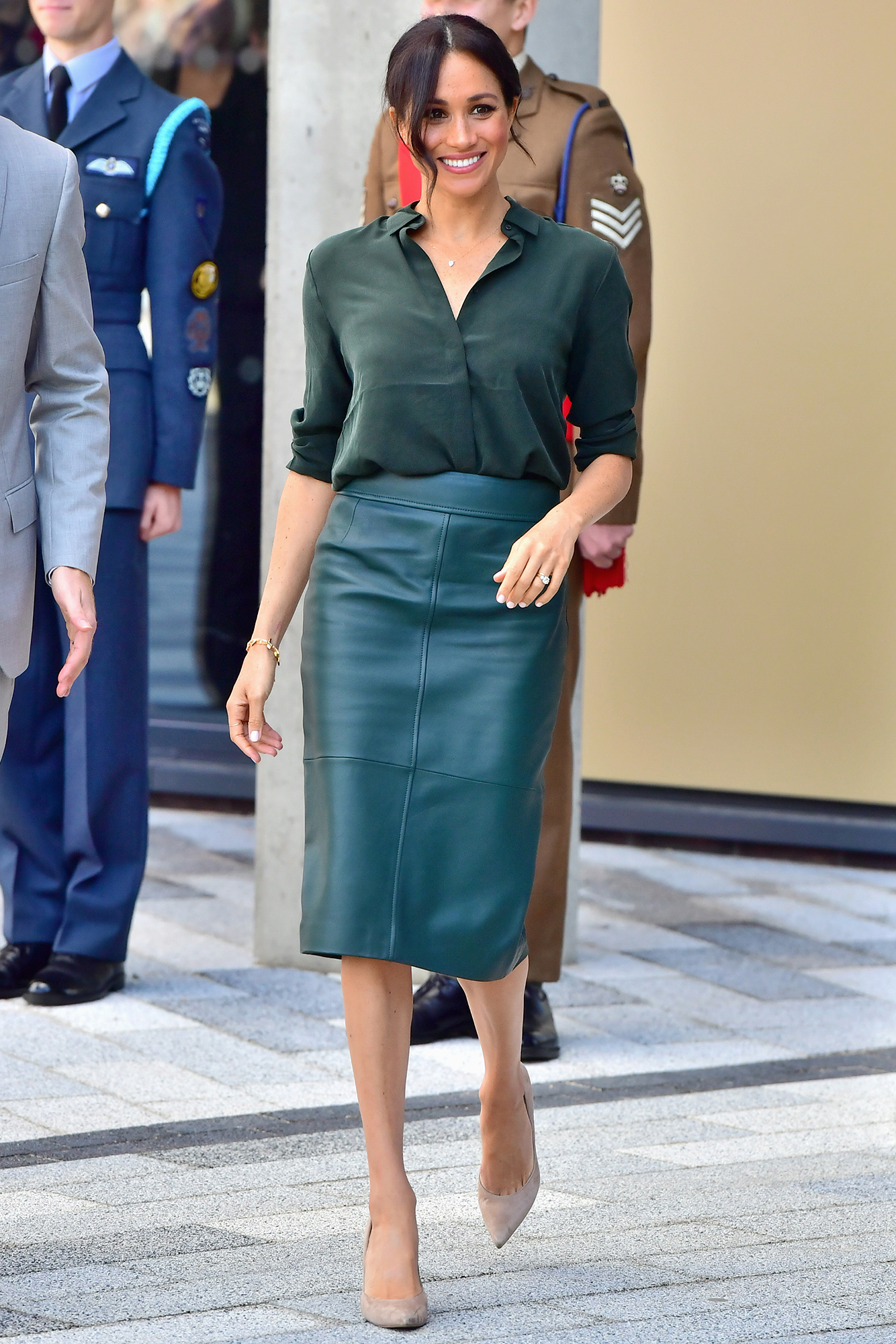 """Everything Duchess Meghan Has Said About Her Diet and Fitness Tricks - """"I used to run all the time, but I typically get picked up for work at 4:15 in the morning on a Monday, so there isn't much time for jogging and I would rather have that extra hour of sleep,"""" Meghan (here in the U.K. on October 3, 2018) confessed while on Suits . After that, she said, she changed it up."""
