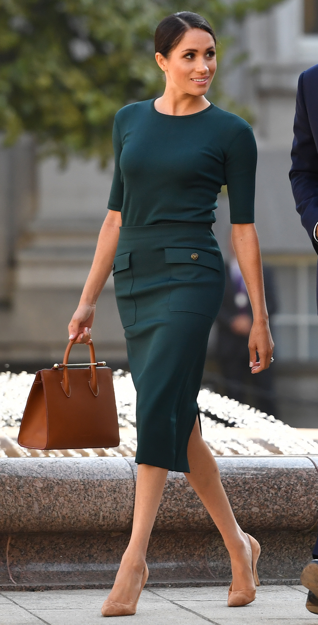"""Everything Duchess Meghan Has Said About Her Diet and Fitness Tricks - What does Meghan (pictured again in Dublin on July 11, 2018) reach for when she needs energy? """"Definitely a green juice. I mean trying to go for coffee or things like that only end up hurting you at the end,"""" she told Shape in a video interview during her Suits days."""