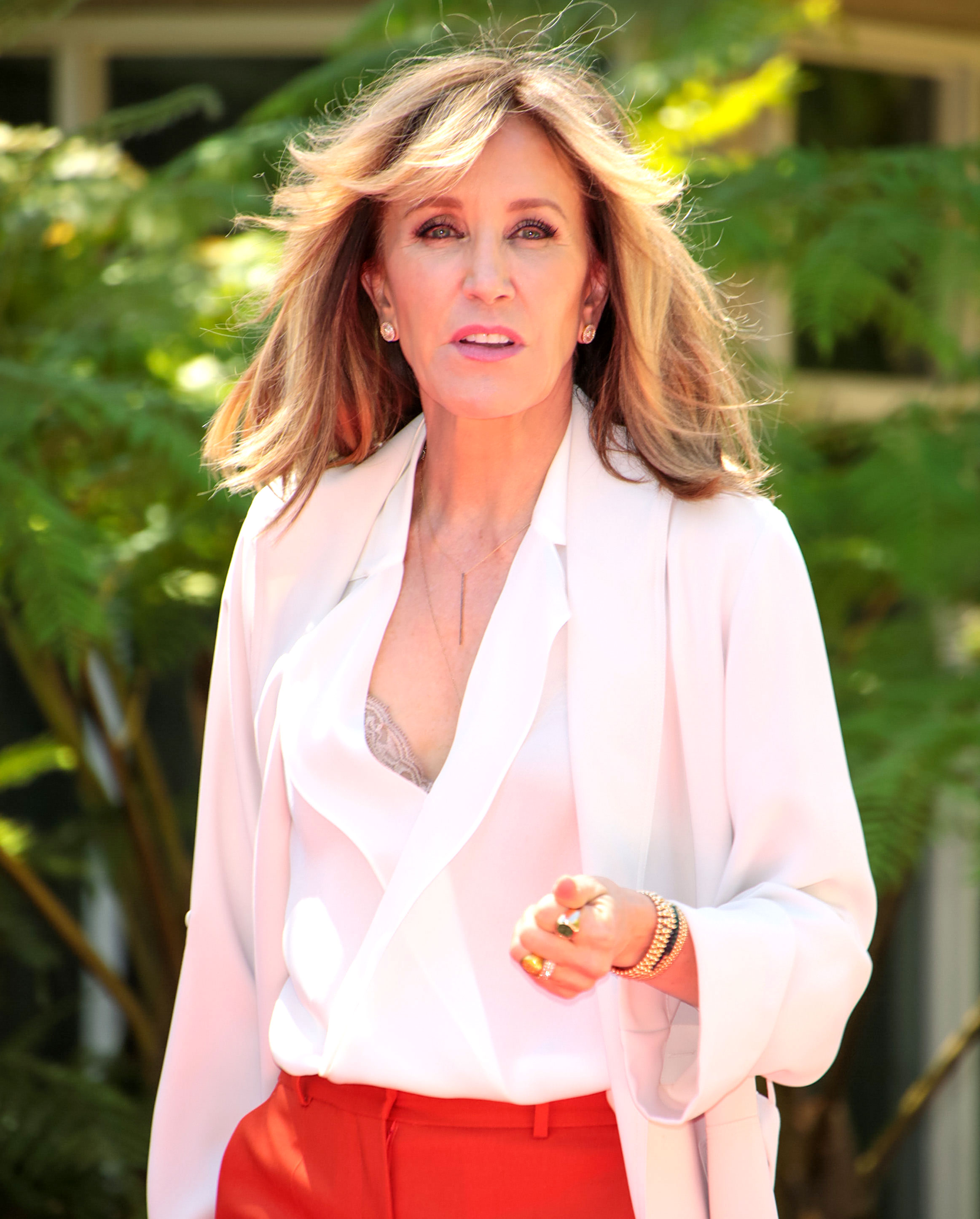 Felicity Huffman's 'Shame and Humiliation Are Unfathomable' - Felicity Huffman out and about on April 16, 2018 in Los Angeles, California.