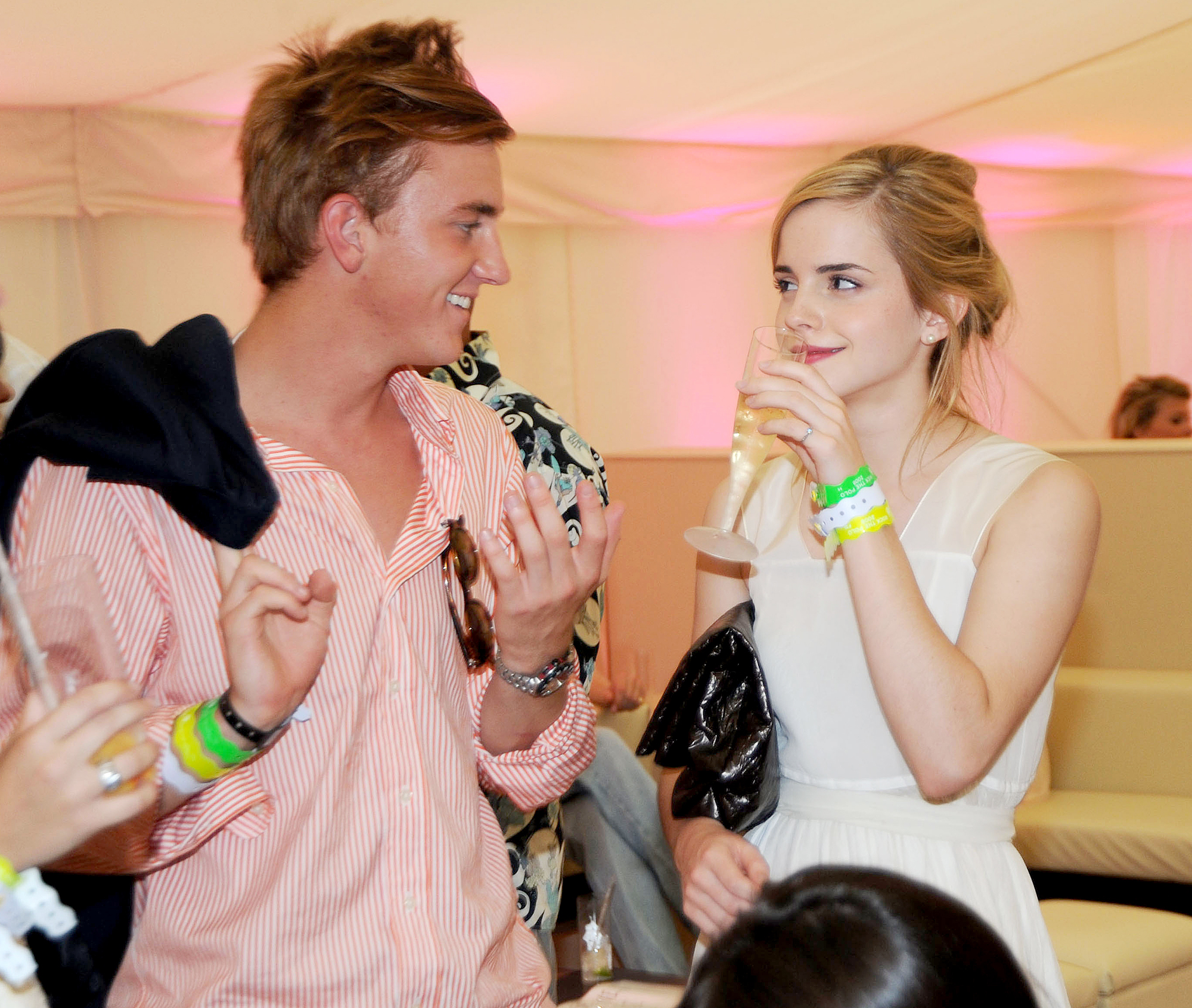 "Francis-Boulle-and-Emma-Watson - Watson and Boulle briefly dated in 2008, but the Made in Chelsea actor called it off. ""I have always been an ambitious person and I want to achieve my own notoriety for what I've done,"" he told Heat magazine in October 2011."