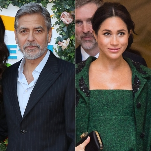 George Clooney Says Press Treatment of Duchess Meghan Is Unkind