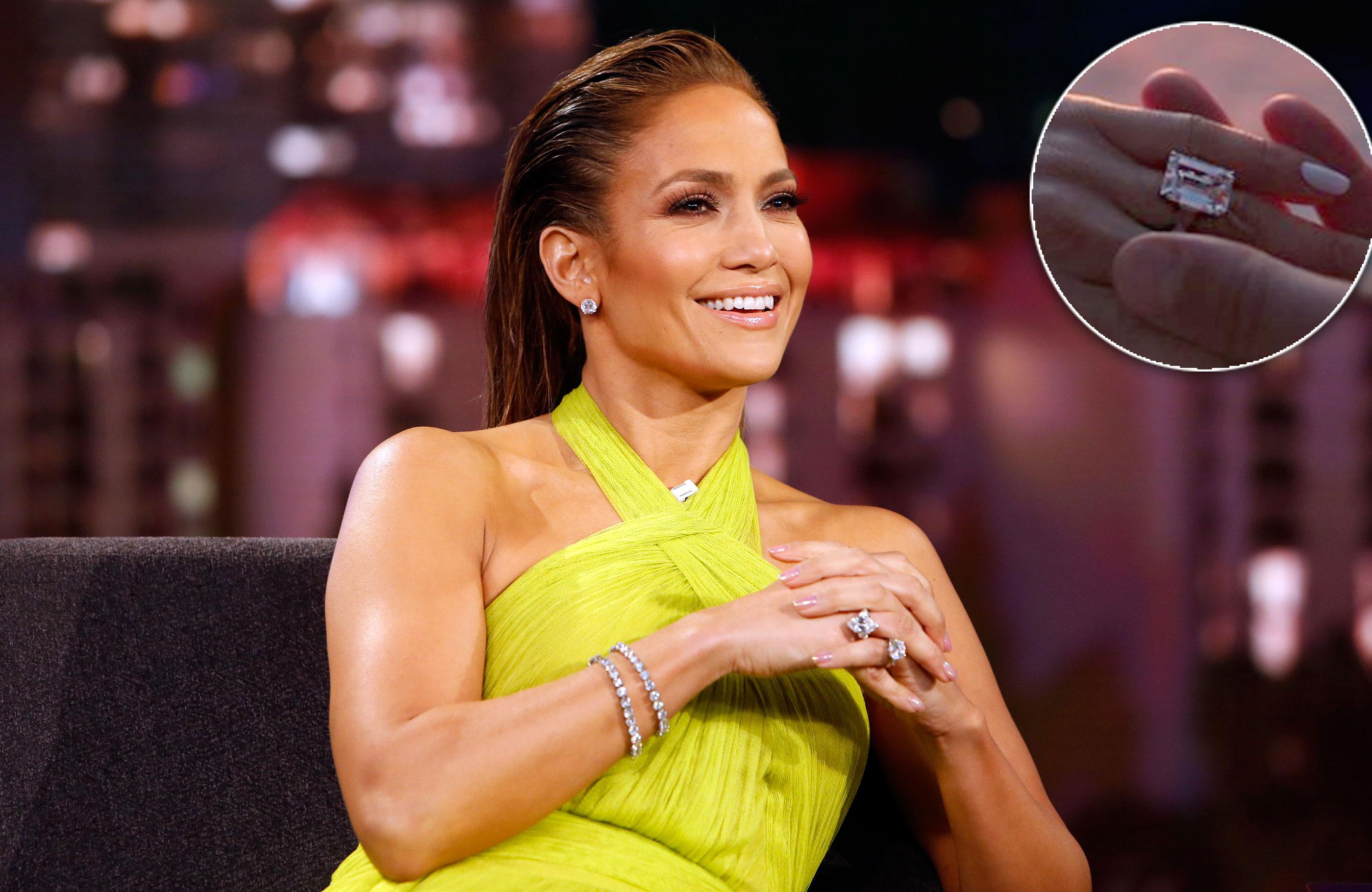 Jennifer Lopez New Wedding Ring