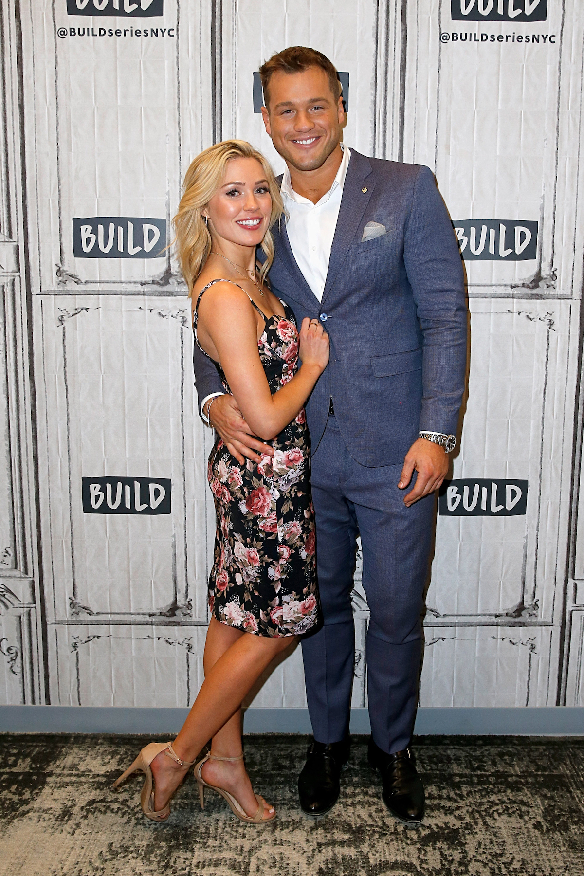 'Bachelor' Star Colton Underwood Praises Cassie Randolph - Cassie Randolph and Colton Underwood attend the Build Series to discuss 'The Bachelor' at Build Studio on March 13, 2019, in New York City.